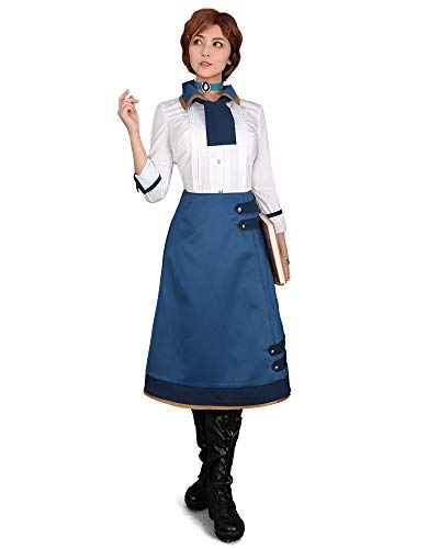 Cosplay.fm Women's Elizabeth Cosplay Costume Outfit Blouse Skirt (S) ()