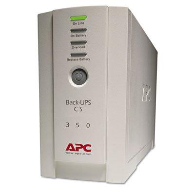 Back-UPS CS Battery Backup System Six-Outlet 350 Volt-Amps,