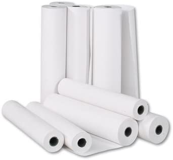 Rollo papel plotter 91,4 cm x 50 m CAD blanco 90 g profesional proyectos: Amazon.es: Oficina y papelería