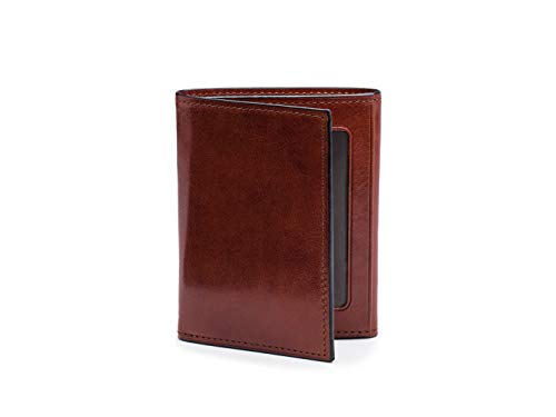 Bosca Men's Double I.D. Trifold in Old Leather - -