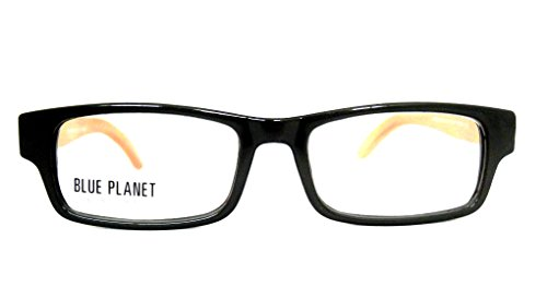 BLUE PLANET Reading Glasses Eco Friendly Men Women Sustainable Bamboo Ladies Designer Eyeglasses Black - Friendly Eco Eyewear
