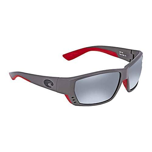 (Costa Del Mar Costa Del Mar TA196OSGGLP Tuna Alley Gray Silver Mirror 580G Race Gray Frame Tuna Alley, Race Gray Frame, Gray Silver Mirror 580G)