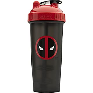 Performan PerfectShaker Deadpool Shaker Bottle With Actionrod Mixing Technology
