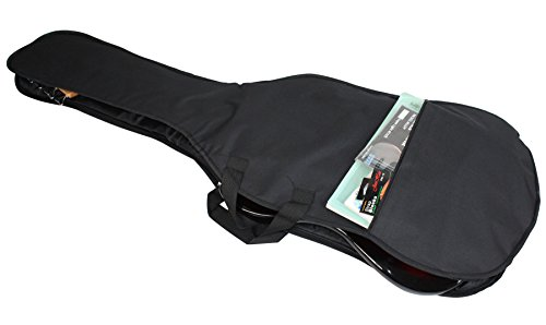 YMC 46-Inch Waterproof Dual Adjustable Shoulder Strap Electric Bass Guitar Gig Bag 5mm Padding Backpack with Accessories(Picks, Pick holder, Strap Lock) -For 43'' &46'' Full Size Bass Guitar by YMC (Image #4)