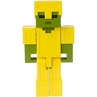 Minecraft Armored Zombie Large Figure: Toys & Games