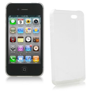 - XtremeMac Microshield CLEAR Hard Case for Apple iPhone 4