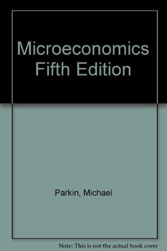 Microeconomics Fifth Edition