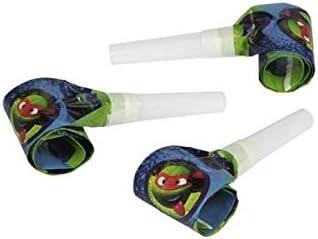 6 unid Matasuegras para fiesta de tortuga Ninja