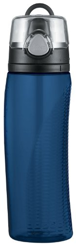 Thermos Nissan Intak Hydration Water Bottle with Meter, Blue