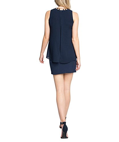 ESPRIT Damen Navy Kleid Collection 400 Blau x40qf