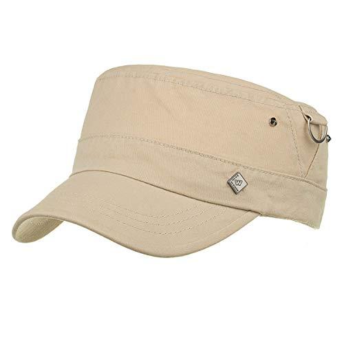 Planos qin Sombreros al sombreados Sombreros Sombreros GLLH Casuales de Gorras Militares Hombres B hat Libre Aire C qdfwwcEt