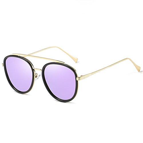 San Purple decoración Valentín mujer Sol De Negro Grandes Gafas Sol Conducción Gris Sol regalos B Llztyj Polarizadas día 4xR7wFO