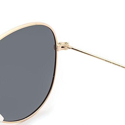 Aviador de pink Oculos Lunettes Marque de Golden Hommes Lunettes Classiques MY ovales Vue Designer Soleil polarisées pour Femmes Polarizado UFdfPx5