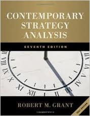 Contemporary Strategy Analysis 7th (seventh) edition