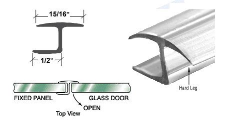 Polycarbonate Jamb Hard Degree Glass