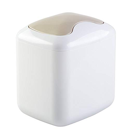 mDesign Wastebasket Dispenser Bathroom Countertops