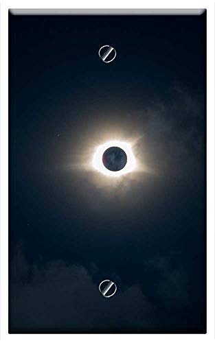 Single-Gang Blank Wall Plate Cover - Eclipse Great American Eclipse 2017 Solar Eclipse