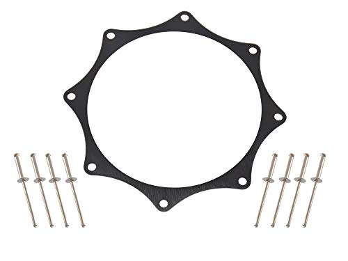 Black Ano Exhaust Trim Ring for 3