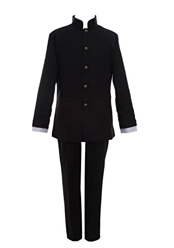 ROLECOS Shigeo Kageyama School Uniform Japanese Anime High School Cosplay Costume L -