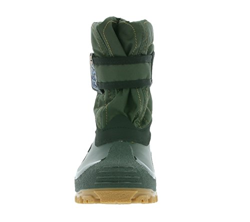 SPIRALE Mika Les bottes d'enfant vert 78128 0046
