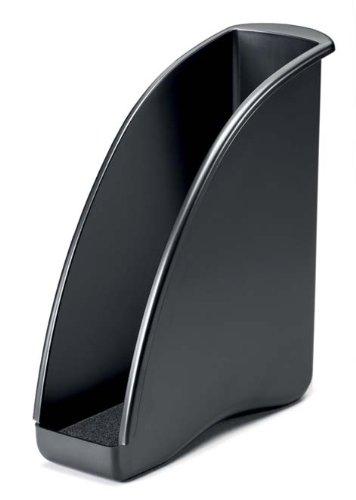 Durable 1701715260 Stehsammler Elegance, für A4 Zeitschriften, schwarz für A4 Zeitschriften