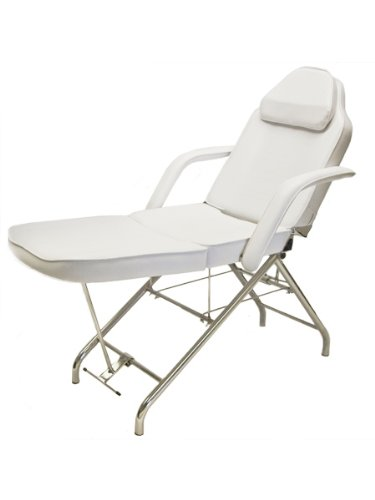 BR Beauty Professional Salon and Spa Stationary Facial Bed
