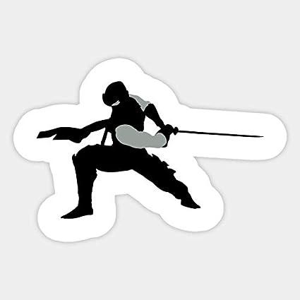 Amazon.com: Ninja Gaiden Ryu Sword Slash Silhouette ...