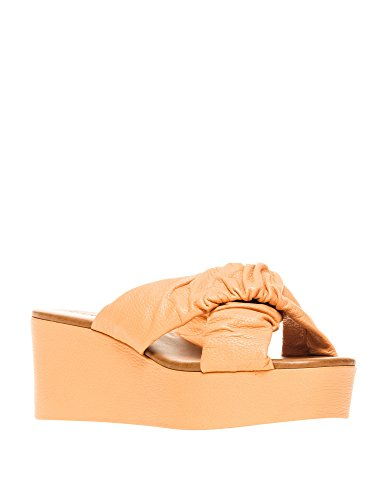 BRASIL Leather in Frutti CARRANO Women's Vaqueta Slides dqwdFav