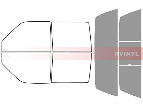 Rtint Window Tint Kit for Chevrolet Silverado 1999-2000 (4 Door) - Rear Windshield Kit - 50%