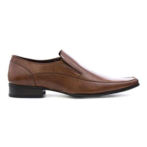 Corp Slip Formal Shoe Mens Tan Beckett Beckett On Tan Menns Corp Sko Slip Brun Brown På Formelle xqdSnXw