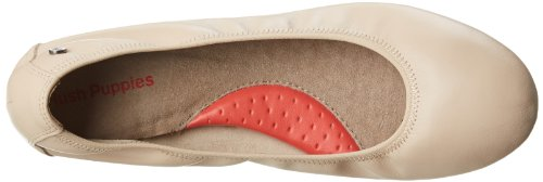Hush Puppies Womens Chaste Ballet Flat Nude