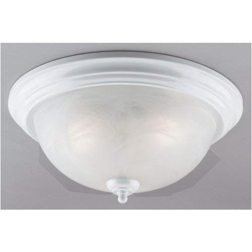 White TV Non-Branded Items 64358 Westinghouse Lighting Corp 3-Light Ceiling Fixture Home Improvement