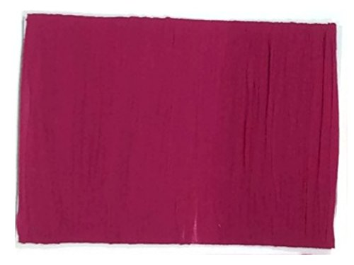 Merlot Panel Bed (Nylon Stocking Fabric Flower Floral High Stretch Plain DIY Material Merlot Cherry Red Crimson Apple Hot Pink Sangria Mulberry Spandex (7.Mulberry))