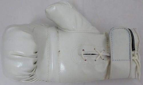 """Manny Pacquiao Autographed Signed White Boxing Glove""""Pacman"""" #P52421 PSA/DNA Certified Autographed Boxing Gloves"""