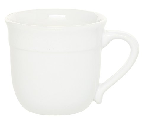 Emile Henry 118714 HR Ceramic Traditional Mug, Flour