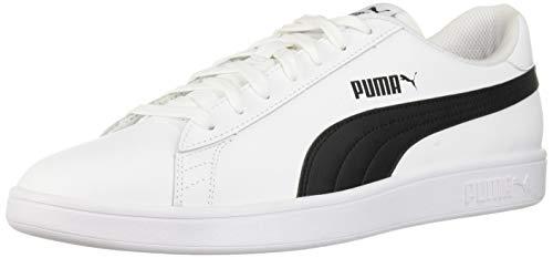 - PUMA Men's Smash v2 Sneaker, WhiteBlack, 9 M US