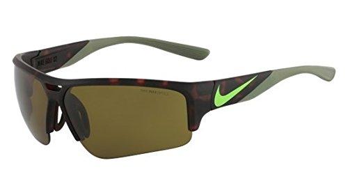 Mens Mx Pro Frame - Nike EV0872-207 Golf X2 Pro Sunglasses (One Size), Matte Tortoise/Flash Lime, Max Outdoor Lens