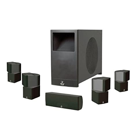 Pyle PHS51P PyleHome 5.1 Home Theater Passive Audio System Four Satellite, Center Channel and 10-Inch (Subwoofer And Center Speaker)