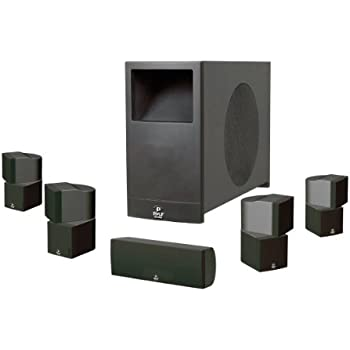 home theater passive subwoofer amplifier. pyle phs51p pylehome 5.1 home theater passive audio system four satellite, center channel and 10 subwoofer amplifier