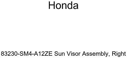 Honda Genuine 83230-SM4-A12ZE Sun Visor Assembly Right