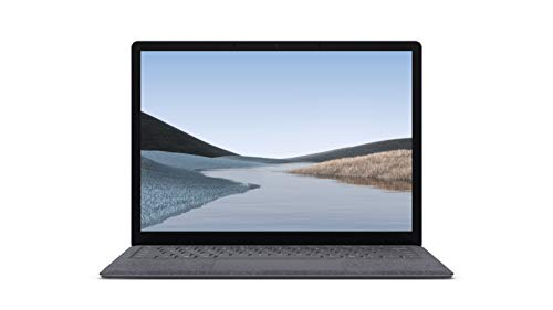 """Microsoft Surface Laptop 3 – 13.5"""" Touch-Screen – Intel Core i5 - 8GB Memory - 128GB Solid State Drive (Latest Model) – Platinum with Alcantara"""