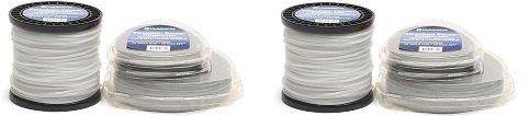 Husqvarna 639005106 Titanium Force String Trimmer Line .095-Inch 3-Pound Spool (2-(Pack))