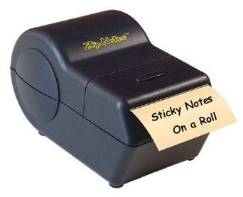 Zip Notes Administrator Notes on a Roll, Battery-Operated Di