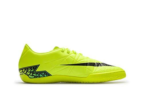 NIKE Men's Hypervenom Phelon II IC Indoor Soccer Shoe (SZ. 9.5) Volt
