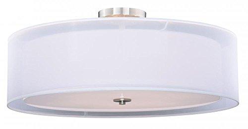 "Vaxcel C0123 30"" Semi-Flush Mount"