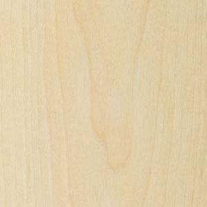 Wood Veneer, Maple, Flat Cut, 2 x 8, 10 mil Paper Backer