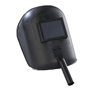 Portátil Soldadura Máscara Soldador Negro Industrial Soldadura Mano Plástico Máscara Protector Facial