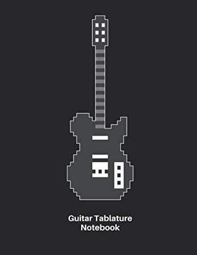 Nice Day Sheet Music - Guitar Tab Notebook: Pixel Guitar Sheet Music Blank Notebook - Great Accessories & Gamer Gift Idea for Guitarists, Guitar Teacher & Students.