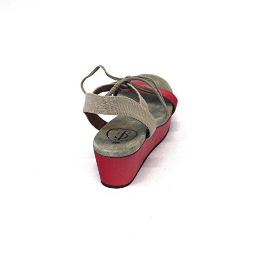 Juicy Couture cojín con forma de cuña y pedrería para mujer, estándar del Reino Unido 3, 5 de £145 rosa - Pop Pink