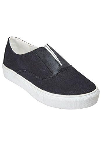 Comfortview Womens Wide Maisy Sneaker Cv Sport Zwart